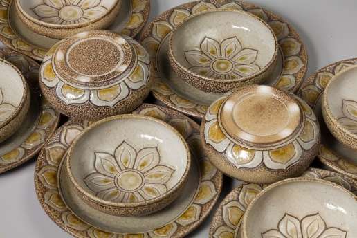 Helianthus Dinner Set Detail