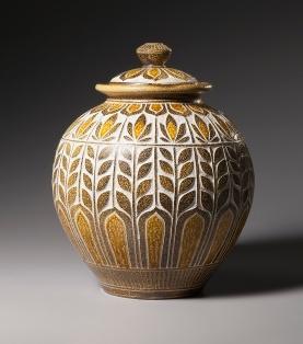art nouveau jar