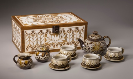 Floral Teaset and Box