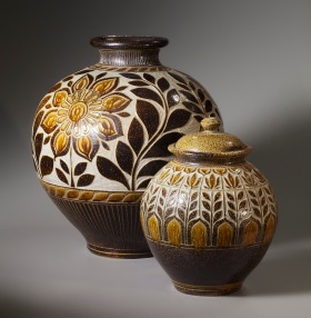 Storage Jar Pair